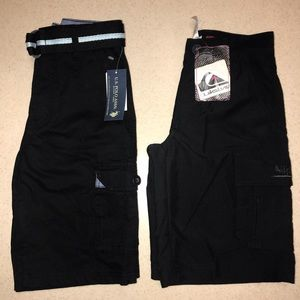 Other - NWT (2) Pair Boys Shorts Black